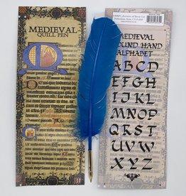 Plume calligraphie Médiévale