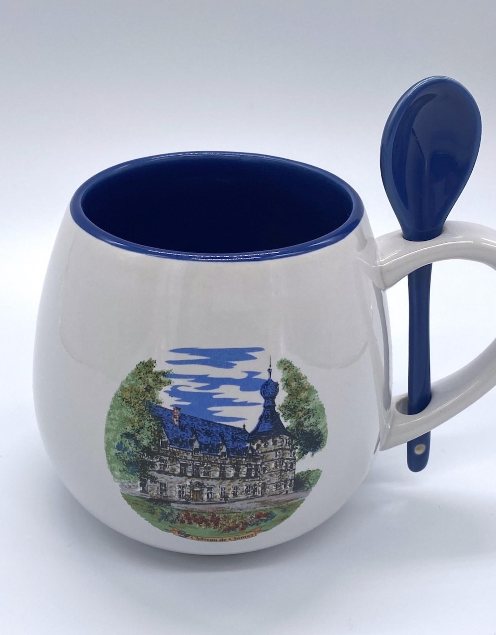 Château de Chimay Mug jumbo Château bleu