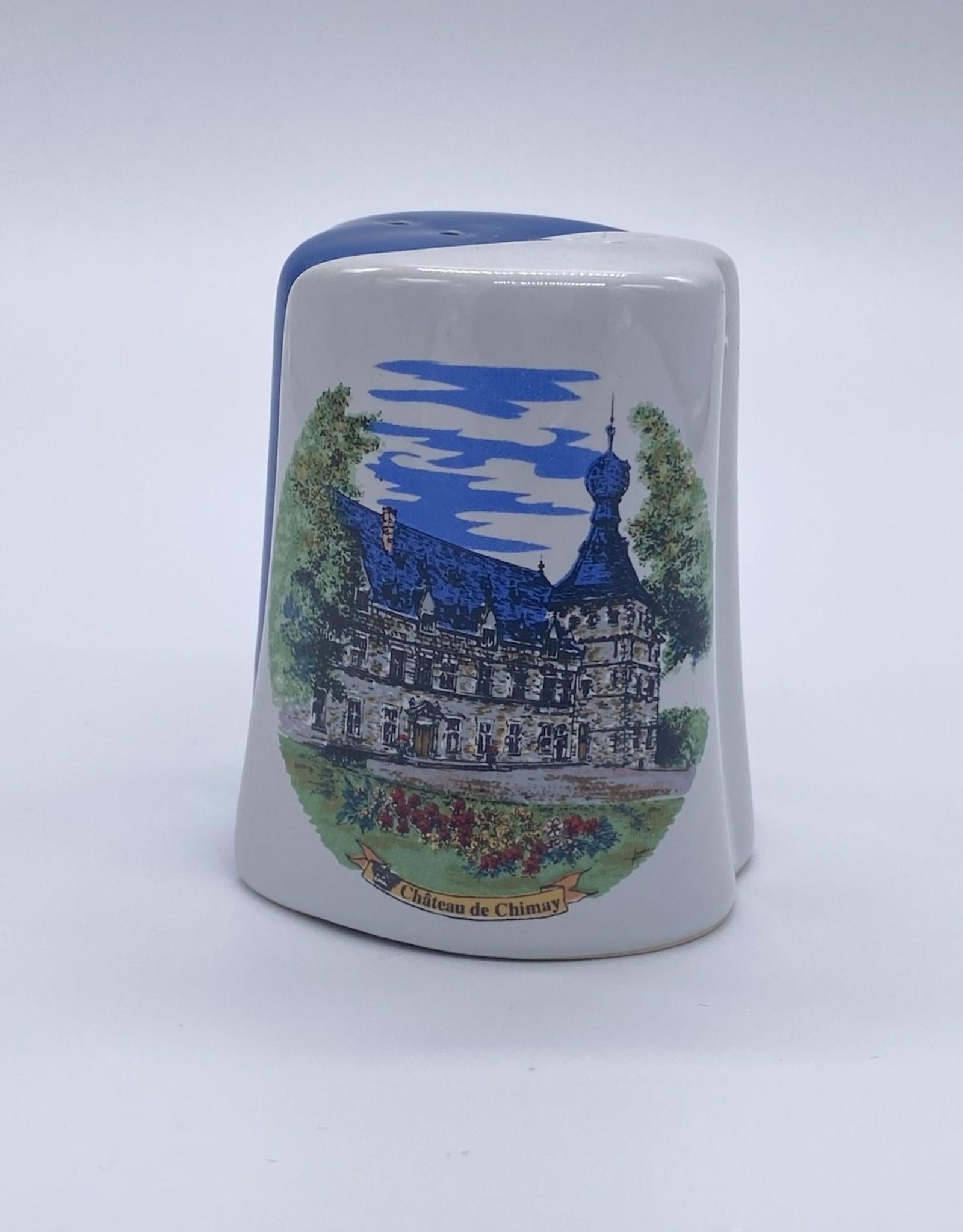 Château de Chimay Sel et poivre bleu/blanc