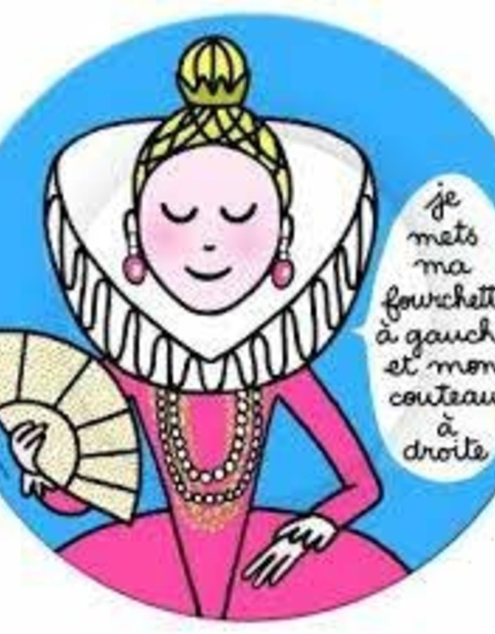 Petit Jour Paris Assiette F fourchette