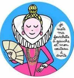 Petit Jour Paris Assiette Princesse fourchette