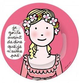 Petit Jour Paris Assiette Princesse je goute