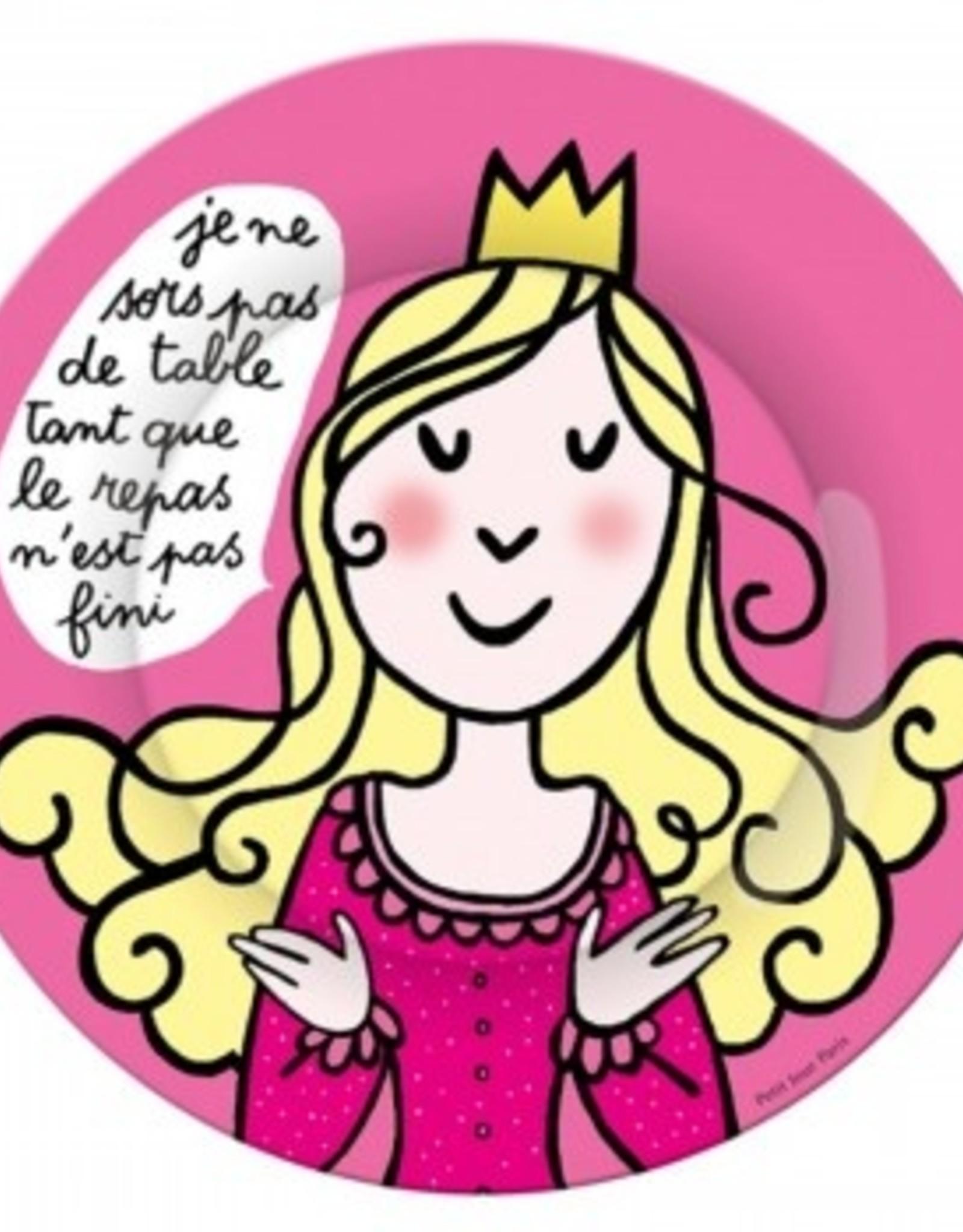 Petit Jour Paris Assiette F je ne sors pas de table