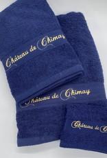 Château de Chimay Essuie 50x100 marine