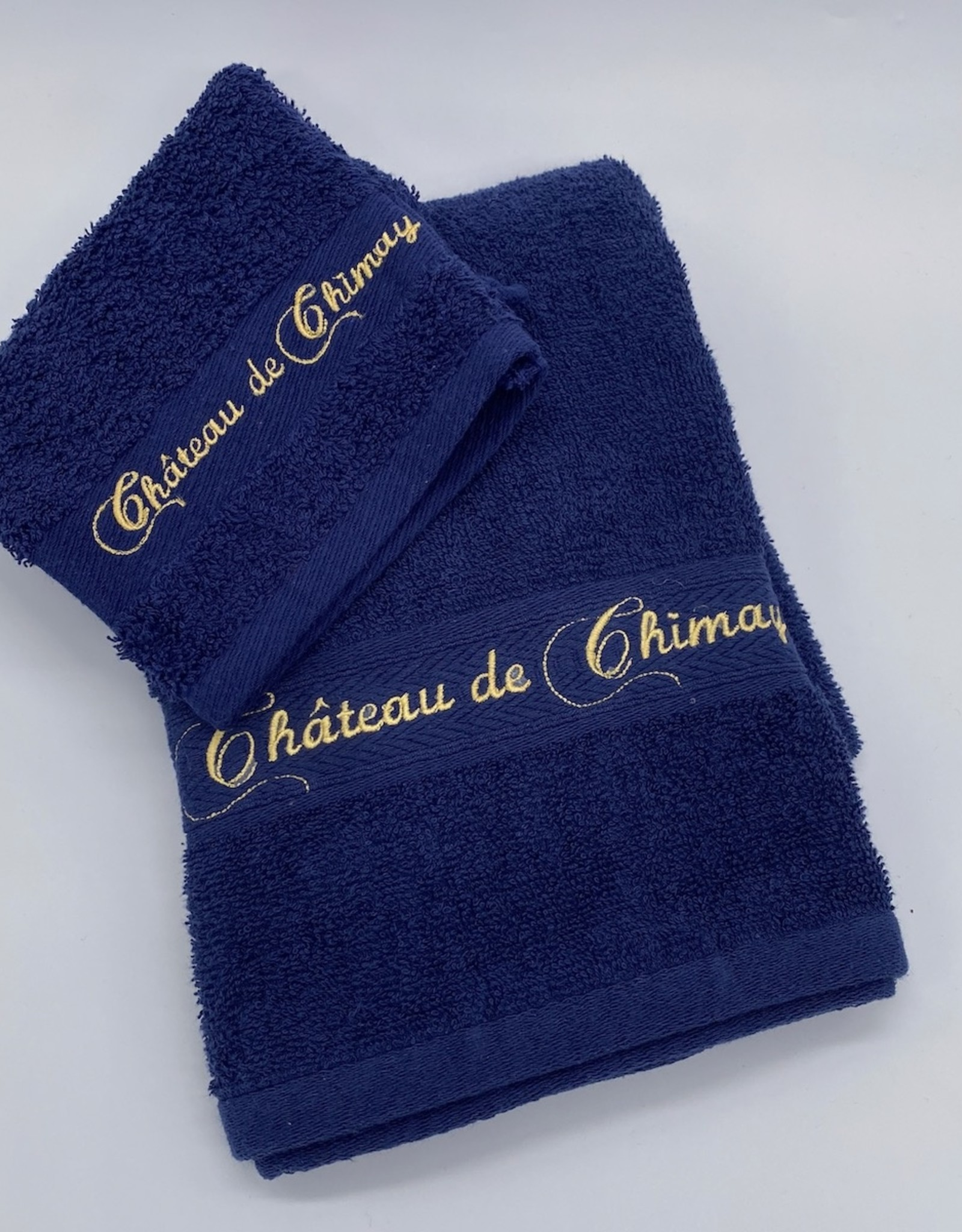 Château de Chimay Essuie 70x140 marine