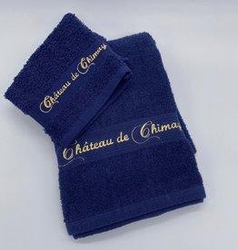 Château de Chimay Drap de bain 70x140 marine