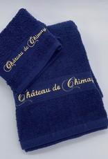 Château de Chimay Gant de toilette marine