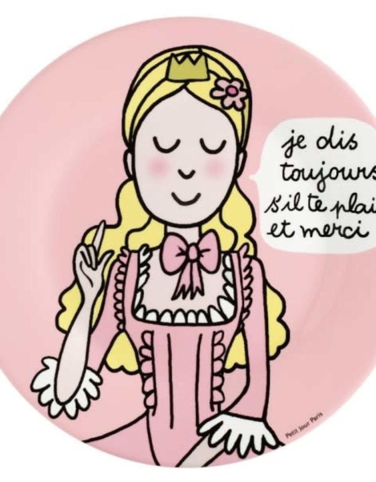 Petit Jour Paris Assiette F s'il te plaît