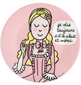 Petit Jour Paris Assiette Princesse s'il te plaît