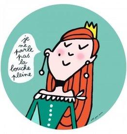 Petit Jour Paris Assiette Princesse bouche pleine