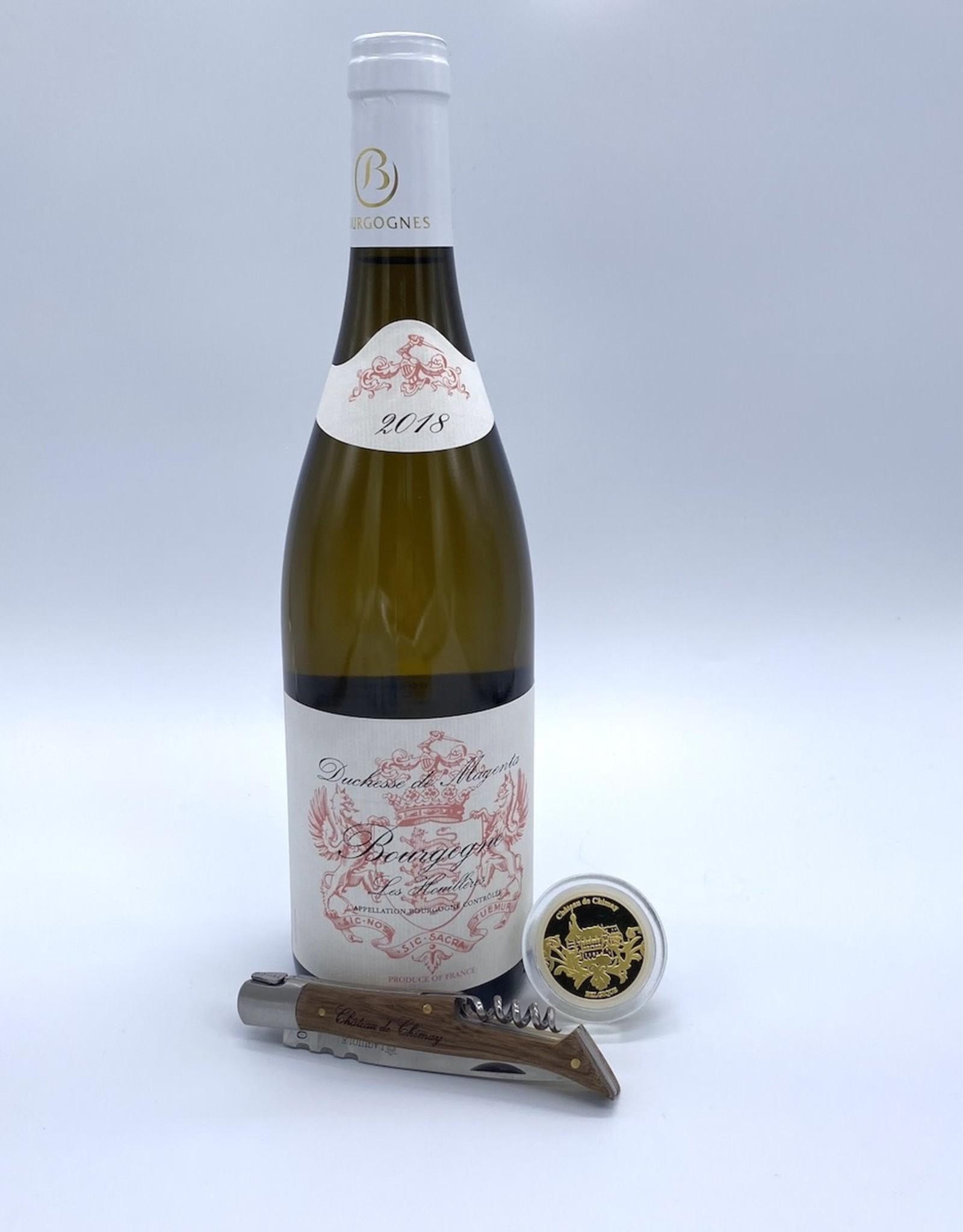 Assortiment vin blanc et accessoires 1