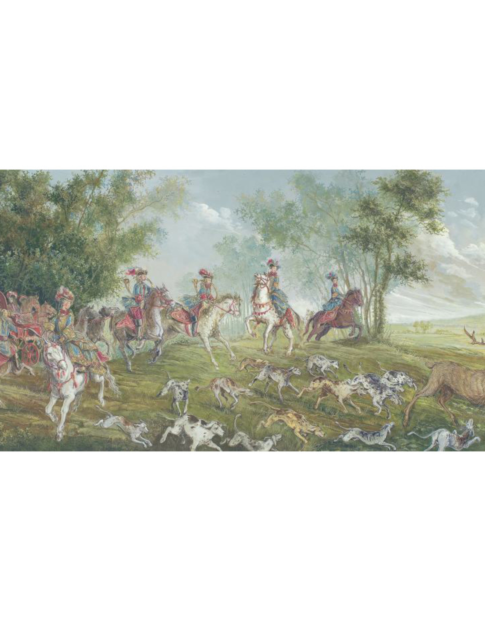 L-Versailles - La vie dans le grand Parc au temps de Louis XIV