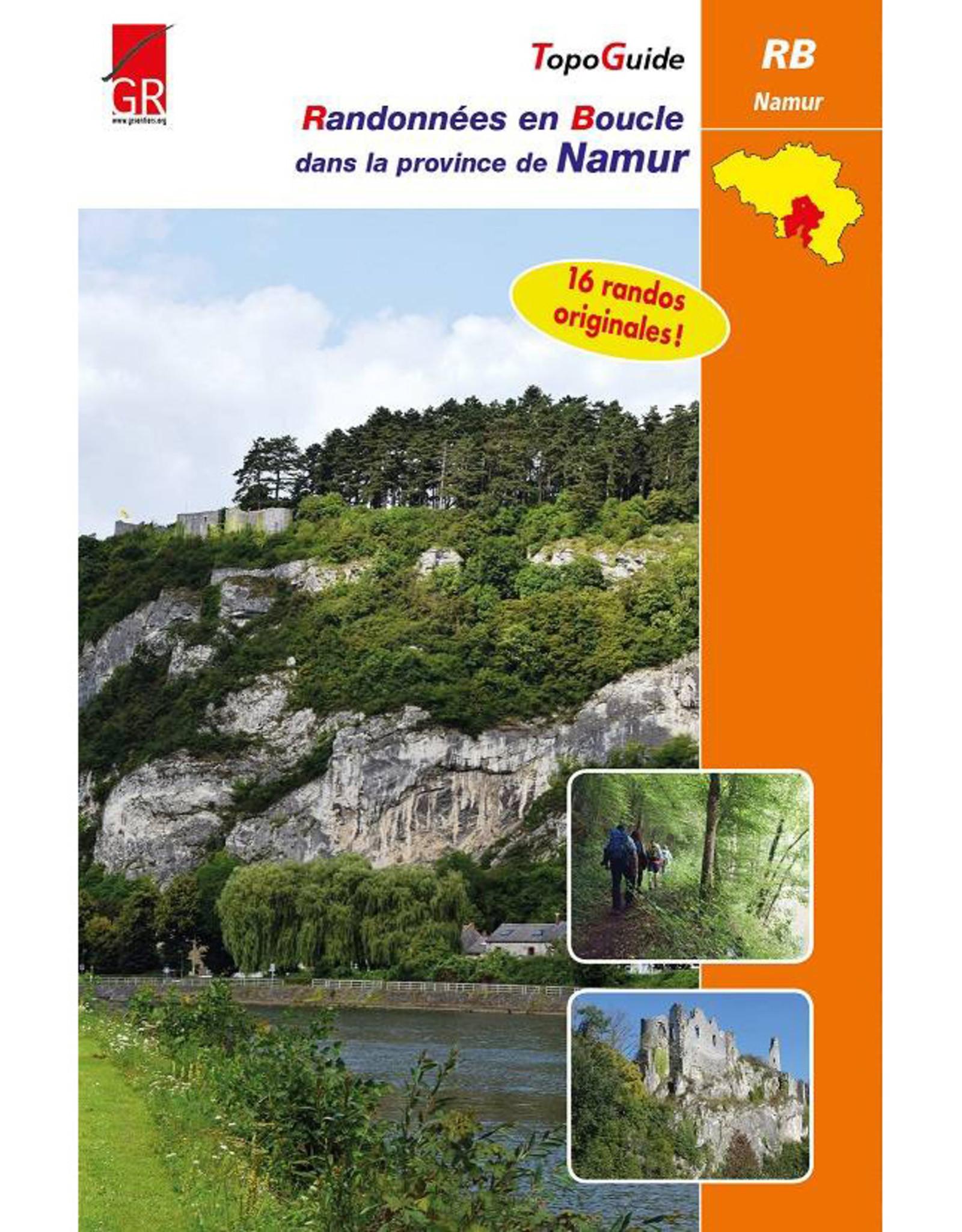 GR sentiers L-Randonnées en boucle Province de Namur