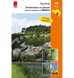 GR sentiers Randonnées en boucle Province de Namur