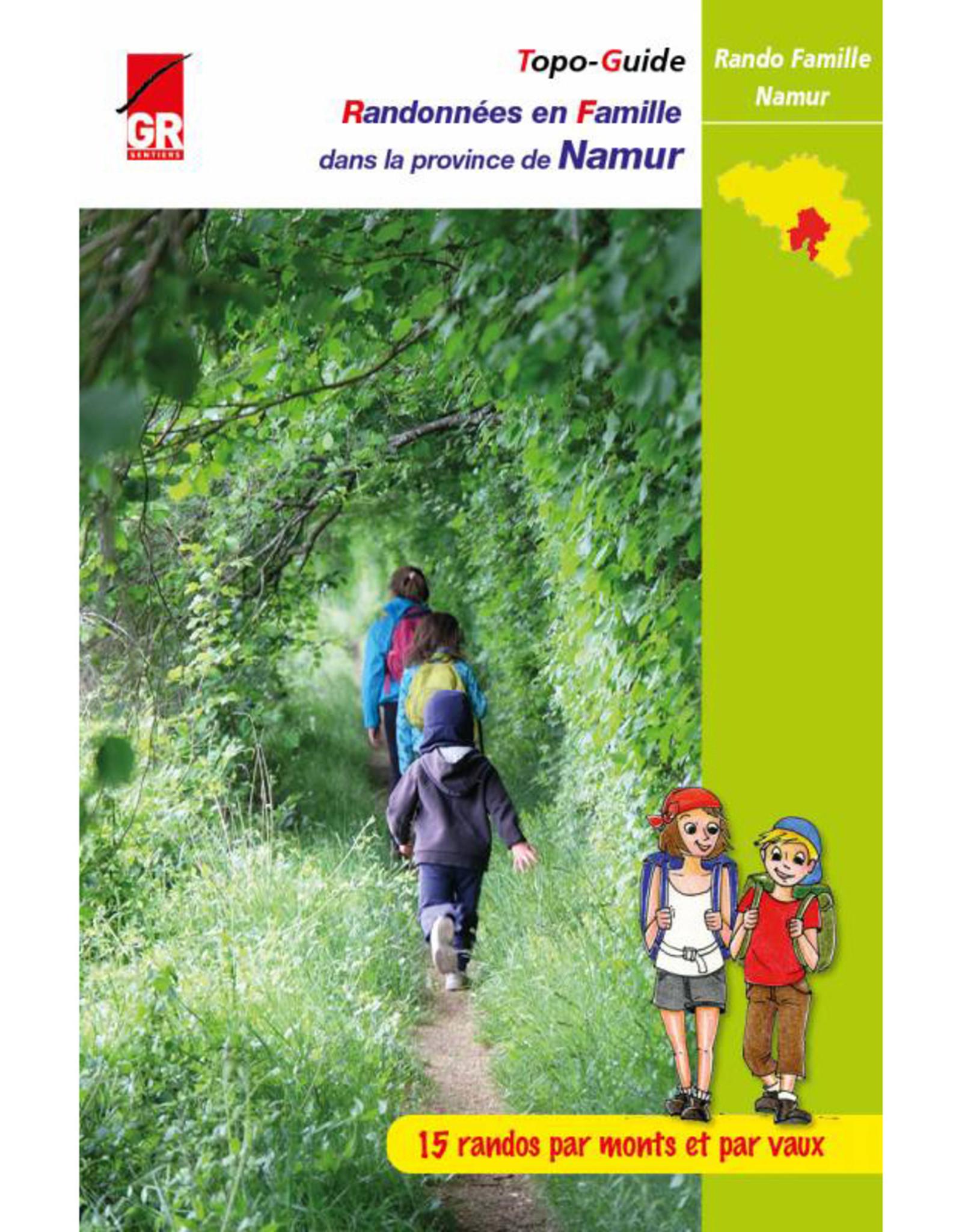 GR sentiers L-Randonnées famille Province de Namur