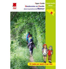 GR sentiers Randonnées famille Province de Namur