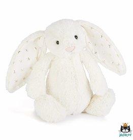 Jellycat Jellycat Bashful Twinkle Bunny Cream 18cm