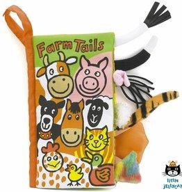 Jellycat Jellycat Farm (boerderij) tails book  21cm