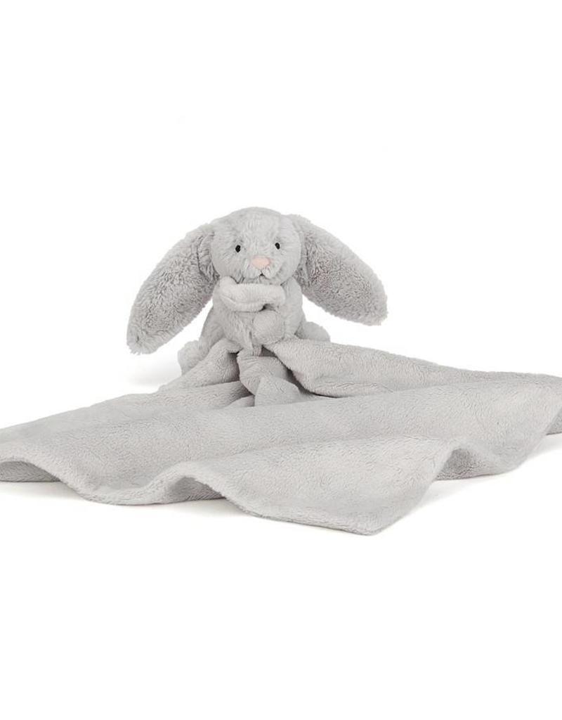 Jellycat Jellycat Bashful Bunny Blankie Zilver