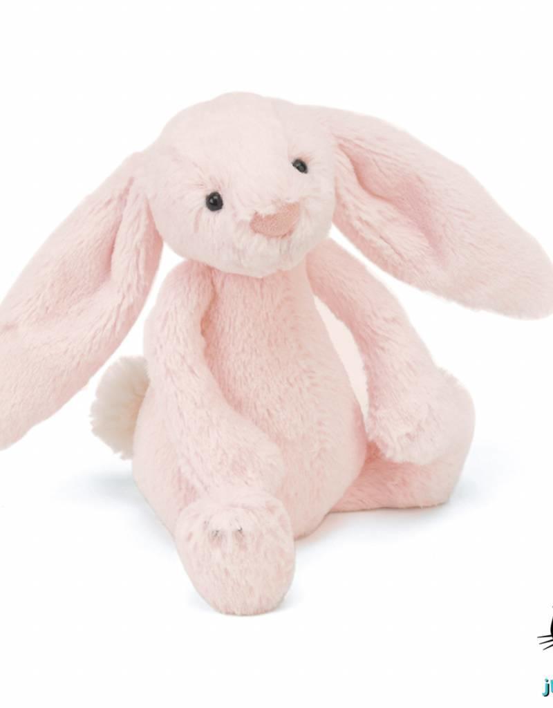 Jellycat Jellycat Bashful Bunny Roze Rammelaar 18cm