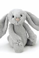 Jellycat Jellycat Bashful Bunny Zilver 18cm
