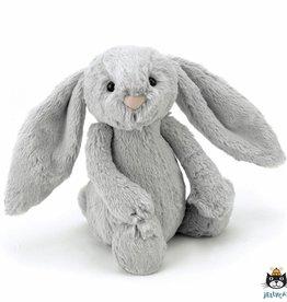Jellycat Jellycat Bashful Bunny Zilver 18cm (Laatste!)