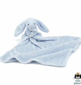 Jellycat Jellycat Bashful Bunny Blankie Blue