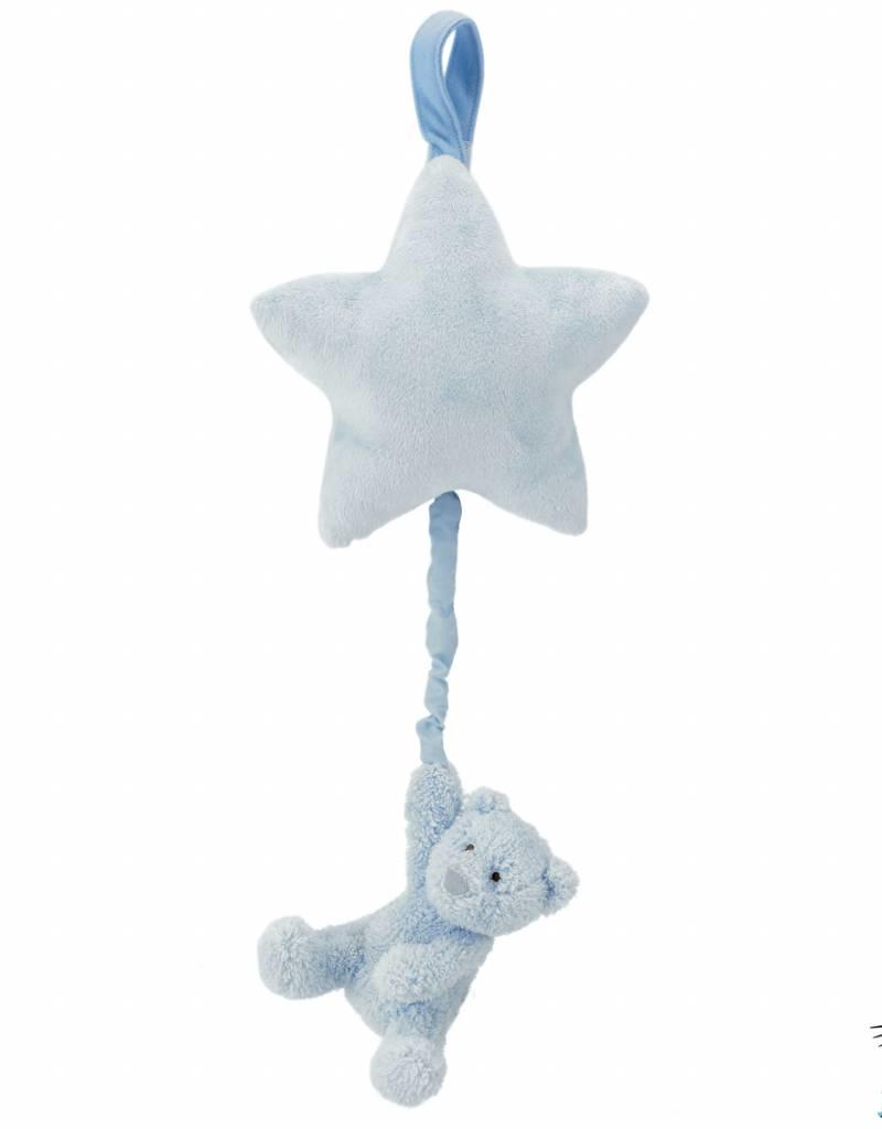 Jellycat Jellycat Bebe Blue Bear Star Musical Pull