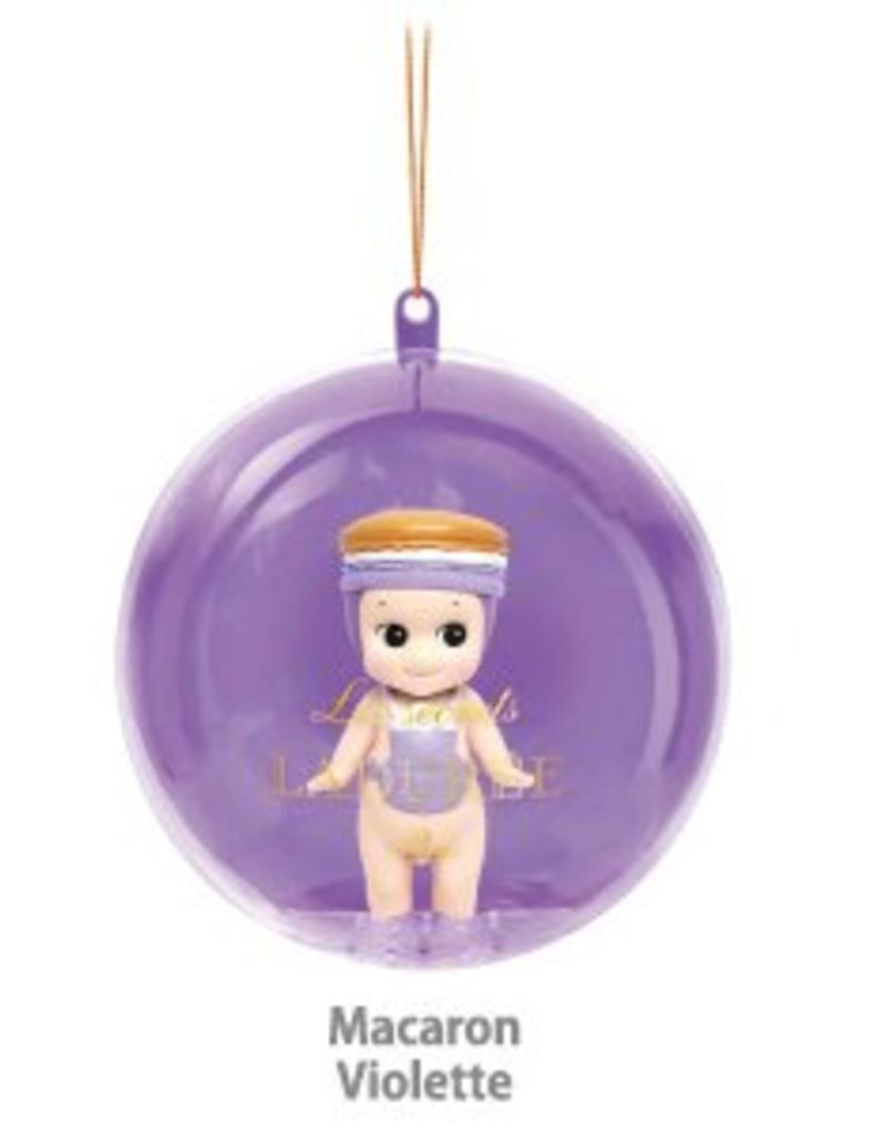 Sonny Angel Sonny Angel Christmas Ornament Laduree Macaron Violette