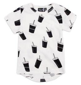 CarlijnQ | Nu -25% KORTING CarlijnQ Milkshake t-shirt (Laatste! Maat 50/56)