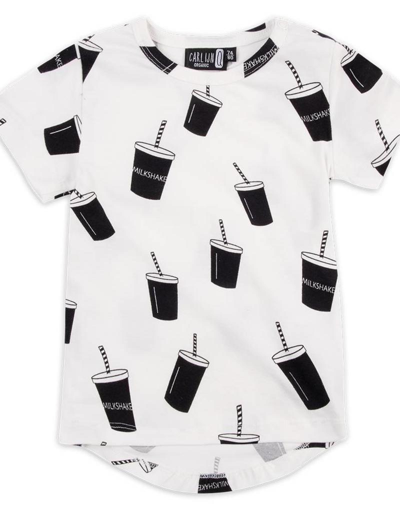 CarlijnQ CarlijnQ Milkshake t-shirt (Laatste! Maat 50/56)