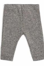 CarlijnQ CarlijnQ sweatpants zwart/wit gevoerd Knit