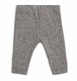 CarlijnQ | Nu -25% KORTING CarlijnQ sweat pants zwart/wit gevoerd Knit