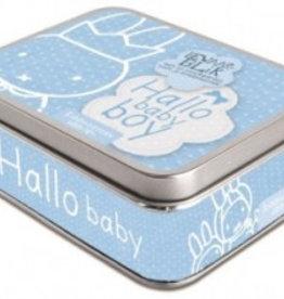 Nijntje Nijntje Hallo Baby Boy kraambezoek kaarten in blik