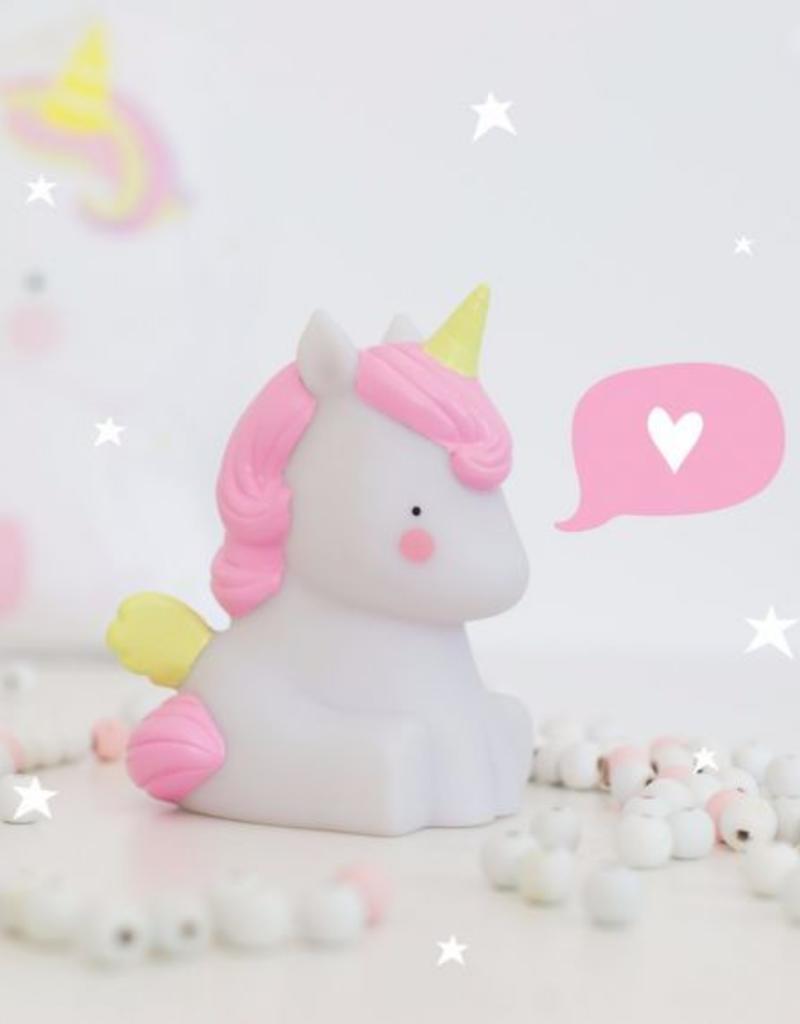 A Little Lovely Company A Little Lovely Company lampje Unicorn