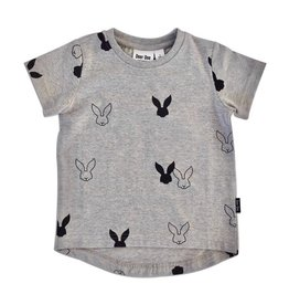 Deer One Deer One Grijs Bunny Love T-shirt