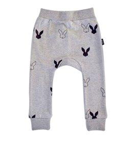 Deer One Deer One Grijs Bunny Love harem broek