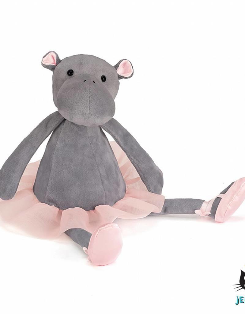 Jellycat Jellycat Dancing Darcey Hippo (nijlpaard) 33cm