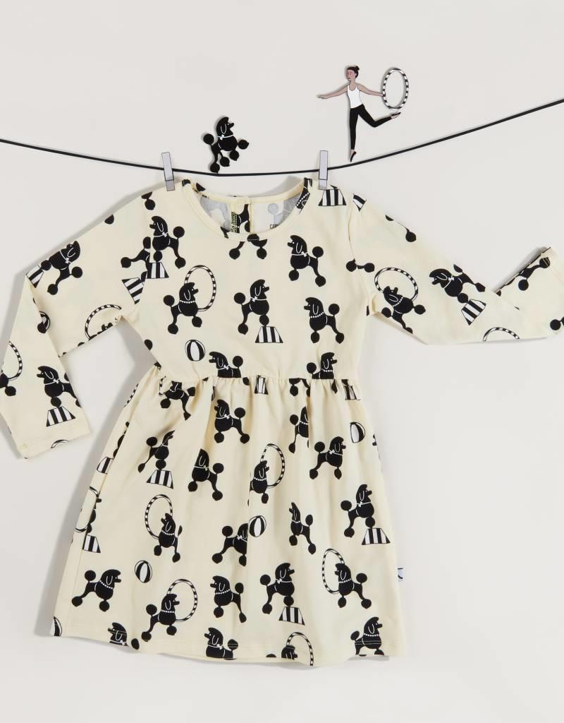 CarlijnQ CarlijnQ Poodles jurk (Laatste! Maat 98/104)