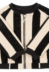 CarlijnQ CarlijnQ Mr. Tiger bomber jacket lined with black jersey