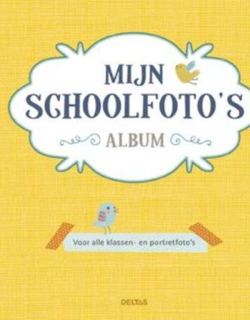 Uitgeverij Deltas Mijn schoolfoto's album Geel