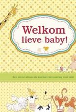 Uitgeverij Deltas Welkom lieve baby! Babyboek