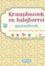 Uitgeverij Deltas Kraambezoek en babyborrel gastenboek