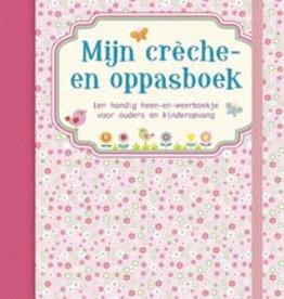 Uitgeverij Deltas Mijn crèche- en oppasboek roze (Laatste!)