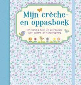 Uitgeverij Deltas Mijn crèche- en oppasboek (blauw)