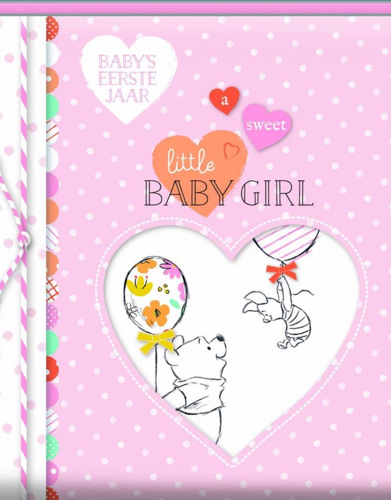 Winnie de Poeh Winnie de Poeh - Baby's eerste jaar roze