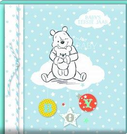 Winnie de Poeh Winnie de Poeh - Baby's eerste jaar blauw