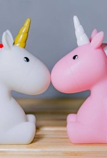 Unicorn nachtlampje Roze