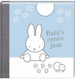 Nijntje Nijntje  nieuw - Baby's eerste jaar blauw