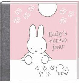 Nijntje Nijntje nieuw - Baby's eerste jaar roze